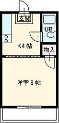 東八町駅 2.5万円