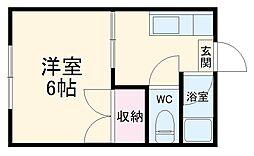 笹原駅 1.5万円