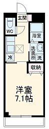 名古屋市営鶴舞線 塩釜口駅 徒歩4分の賃貸マンション 1階1Kの間取り