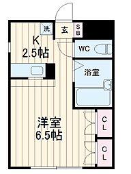 矢切駅 4.6万円