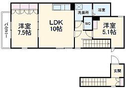 浅間町駅 8.0万円