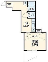 希望ヶ丘駅 7.4万円