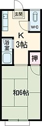 百草園駅 2.5万円