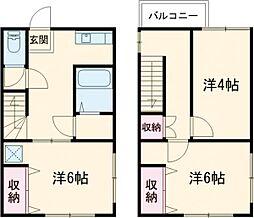 東京メトロ有楽町線 氷川台駅 徒歩14分の賃貸テラスハウス