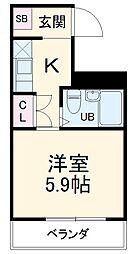中村公園駅 3.4万円