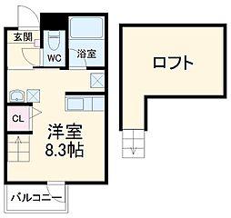 烏森駅 4.9万円