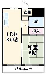 六番町駅 4.5万円