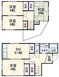 勝田台駅 6.4万円