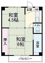 桜木駅 2.2万円