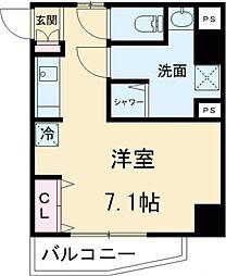 東京メトロ有楽町線 東池袋駅 徒歩2分の賃貸マンション 3階ワンルームの間取り