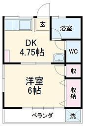 岡本駅 2.5万円