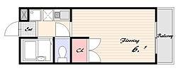 ロビンハイツ[2階]の間取り