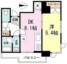 エターナル桜台[5階]の間取り