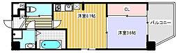 KAUNIS HIRANO[5階]の間取り