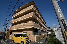 大阪府堺市北区北花田町2丁の賃貸マンションの外観
