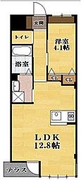 高宮町TH新築マンション[1階]の間取り