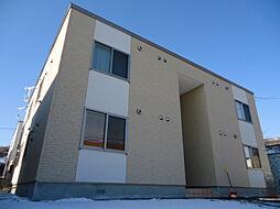北海道小樽市富岡1丁目の賃貸アパートの外観
