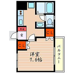 滋賀県米原市宇賀野の賃貸マンションの間取り