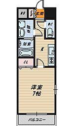 フォレストガーデン今福鶴見4[10階]の間取り