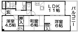 長楽ビル[3階]の間取り