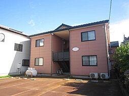 新潟県燕市日之出町の賃貸アパートの外観