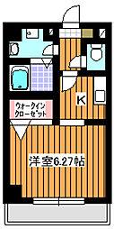 ハイツビゴラスIII[1階]の間取り