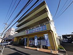 神奈川県厚木市愛甲2丁目の賃貸マンションの外観
