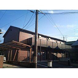 愛知県岡崎市明大寺町字大圦の賃貸アパートの外観