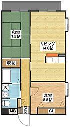 ANNEX31-VI[2階]の間取り