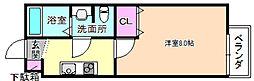 大阪府寝屋川市香里本通町の賃貸アパートの間取り