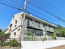 神奈川県大和市代官2丁目の賃貸アパートの外観