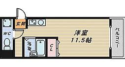 ニューメイト堺市駅[4階]の間取り
