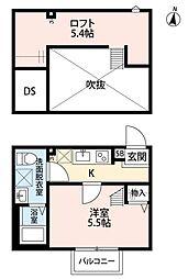 Crescent 浦和(クレッセントウラワ)[2階]の間取り