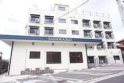 福岡県福岡市中央区笹丘2丁目の賃貸マンションの外観