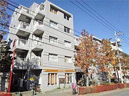 東京都多摩市中沢2の賃貸マンションの外観
