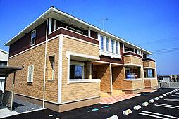 栃木県真岡市長田の賃貸アパートの外観