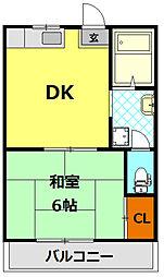 エントピア1[2階]の間取り