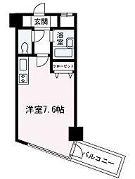 埼玉県朝霞市東弁財2丁目の賃貸マンションの間取り