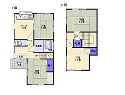 [一戸建] 福岡県大野城市大城4丁目 の賃貸【/】の間取り