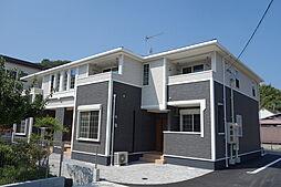 滋賀県近江八幡市西元町の賃貸アパートの外観