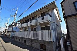 大阪府松原市東新町3丁目の賃貸アパートの外観