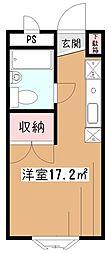 新堀マンション[3階]の間取り