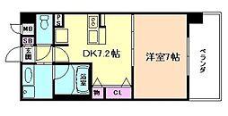 KAISEI梅田[4階]の間取り
