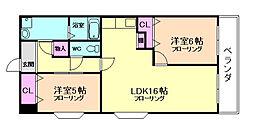 エミネンス梅田西[3階]の間取り