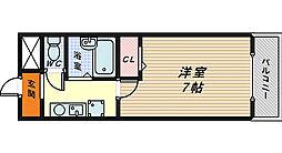 ステージ村田1[3階]の間取り