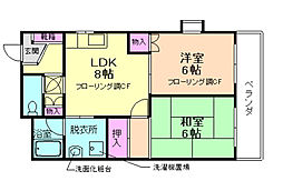 メールメゾン渋谷[2階]の間取り