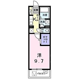 埼玉県八潮市大瀬4丁目の賃貸マンションの間取り
