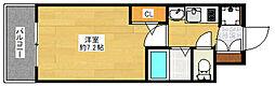 エステムコート博多・祇園ツインタワー ファーストステージ[8階]の間取り