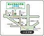 地図,3DK,面積60.31m2,賃料7.3万円,JR中央線 西八王子駅 徒歩6分,JR中央線 八王子駅 徒歩29分,東京都八王子市台町4丁目