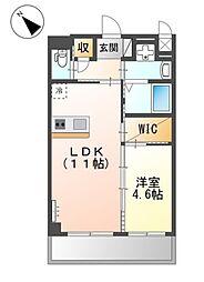 JR阪和線 三国ヶ丘駅 徒歩7分の賃貸マンション 1階1LDKの間取り